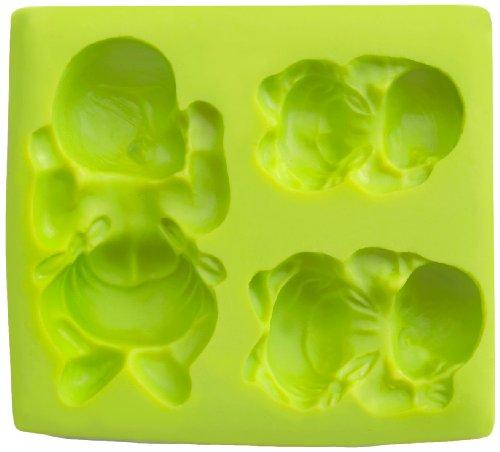 Ibili 872201 - Molde 3D Bebé 100% silicona