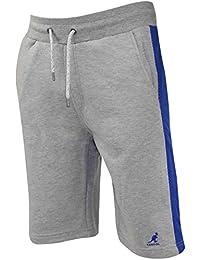 Nouveau cordon de Kangol hommes moitié Jogging été Fleece Lined dessiner Gym Harling Shorts
