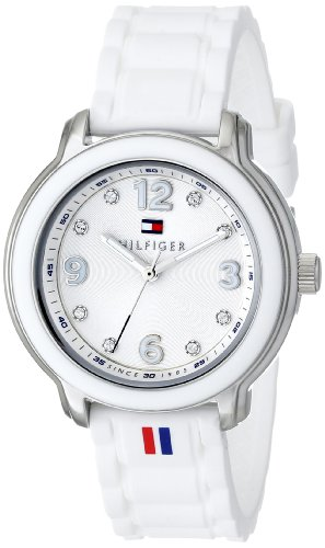 Tommy Hilfiger Women's 1781418 Crystal-Accented Stainless Steel Watch image