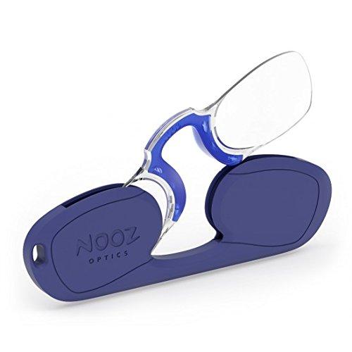 Nooz-Optics - Rechteckige Lesebrille unisex (Blau, 1.5)