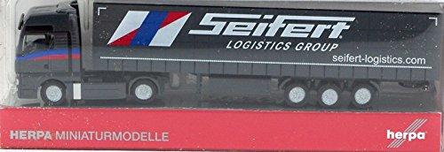 Herpa - 066426 - Man TGX XXL Semi Remorque Bâché Seifert