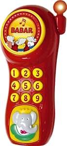 Lansay - Jouet 1er âge - Mon Premier Telephone Babar