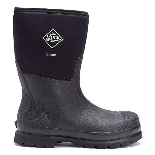 Muck Bottes Colt Ryder, Femmes de Travail Bottes de Pluie - Noir - Noir (Black 000), 47 EU (12 UK)The Original Muck Boot Company