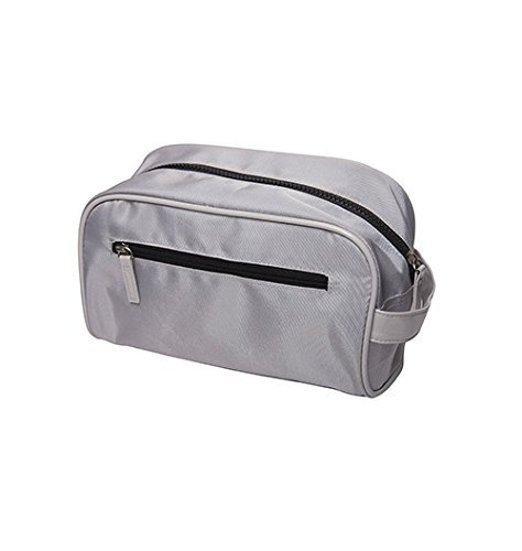 Microfiber König (Harry D Koenig Microfiber Dopp Bag, Gray, Medium by Harry D Koenig & Co)