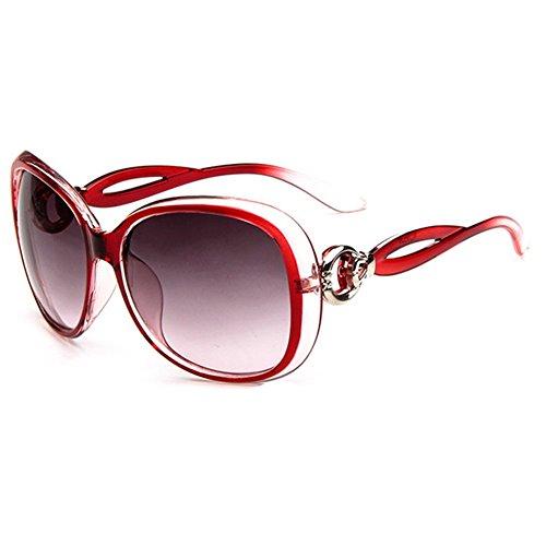 O-C-Occhiali da sole Fashion da donna grande, misura 60mm rosa Pink