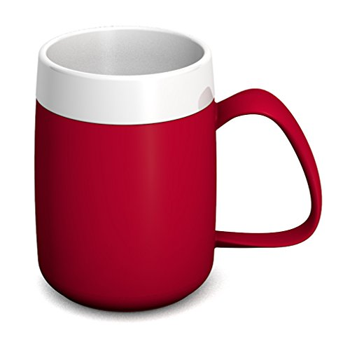 Ornamin Gobelet Isotherme 260 ml Rouge (Modèle 206) / mug isotherme, gobelet double paroi, tasse à thé