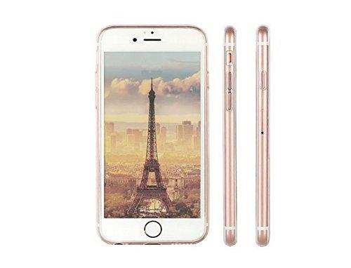 iPhone 7Coque [avec gratuit Protection d'écran en verre], Ultra mince TPU doux Coque pour Apple iPhone 7, coloré Motif Jelly Coque de protection pour iPhone 7, plastique, Cat1, Iphone 7 Plus 5.5 inch Gril