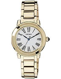 Seiko Damen-Armbanduhr Analog Quarz Edelstahl beschichtet SRZ450P1
