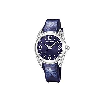 Calypso Reloj Análogo clásico para Mujer de Cuarzo con Correa en Plástico K5734/5