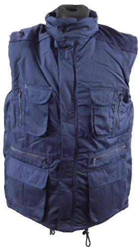 Tasche, con imbottitura, 13-Gilet/giacca da caccia del paese di caccia blu navy
