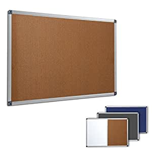 profi pinnwand f r b ro schule k che etc memoboard in. Black Bedroom Furniture Sets. Home Design Ideas