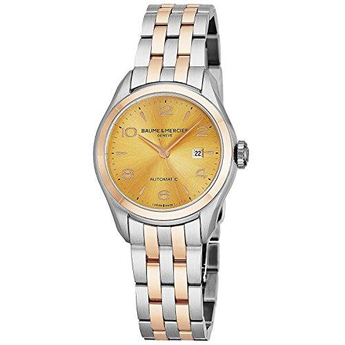 Baume & Mercier Clifton Reloj de Mujer automático 30mm Correa de Acero 10351