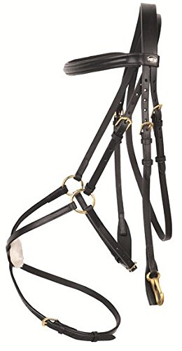 HKM Horse Bridle Mexican Style with Lambskin Padding 4