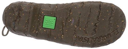 El NaturalistaN148  Yggdrasil - Stivali classici imbottiti a gamba corta Donna Verde (Verde (kaki))