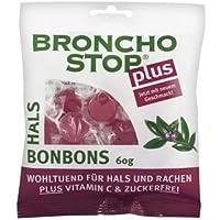 Bronchostop Plus Hals-Bonbons 60g (60 G) preisvergleich bei billige-tabletten.eu