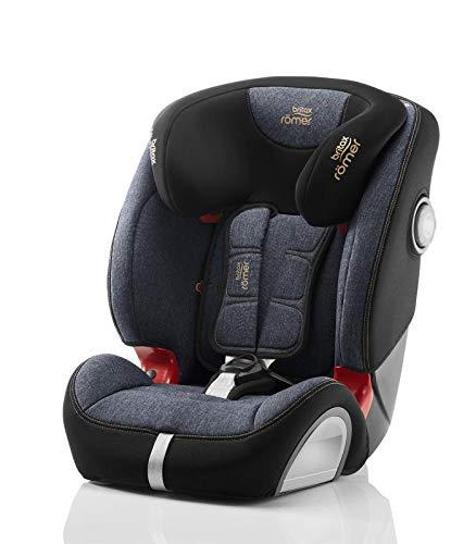 Britax Römer Kindersitz, 9 - 36 kg, EVOLVA 123 PLUS SL SICT Autositz Isofix Gruppe 1/2/3, blue Marble