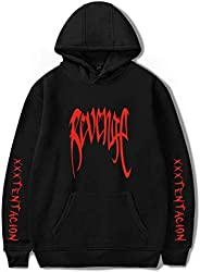 Xxxtentacion Hoodies Men Sweatshirt Rapper Xxxtentacion RIP Revenge Hip Hop Hoodie Sweatshirts Women Girls Mal