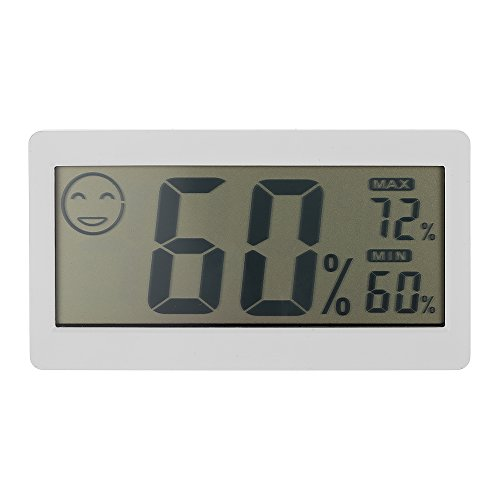 KKmoon 3.3' Mini LCD digitale Termometro Igrometro misuratore di umidità e temperatura per uso interno