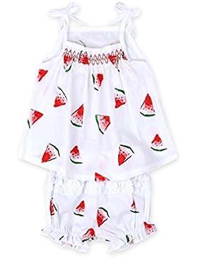SMARTLADY 1~4 años Niña Bebé Chaleco patrón de model y Pantalones cortos