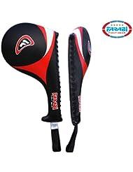 Farabi Taekwondo Racket Hand Karate Kick Boxing Strike Pad Martial Art X 1 UNIT by Farabi