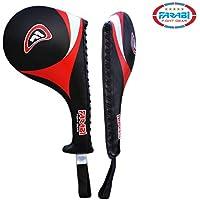 Farabi Fight Gear mano raqueta de Taekwondo Karate Kick Boxing Huelga Pad Artes Marciales X 1unidad
