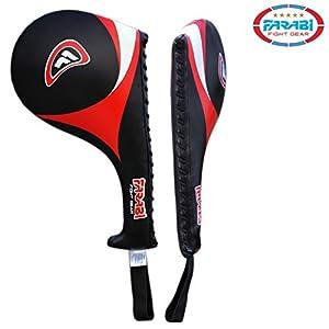 41YQMXaXxcL. SS300  - Farabi Taekwondo Racket Hand Karate Kick Boxing Strike Pad Martial Art X 1 UNIT