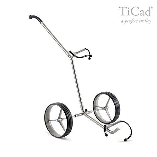 TiCad Pro - Chariot à 2 roues en titane (principe...
