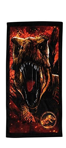 Factorycr Jurassic World - Beach towel 100% cotton-1 70x140 cm