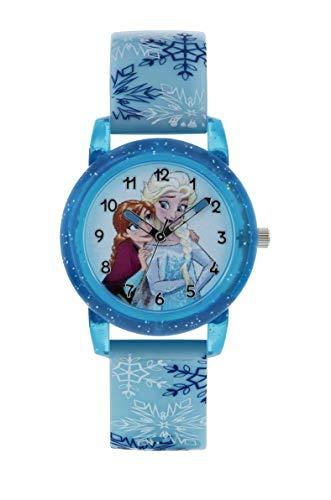 Frozen Mädchen Analog Quarz Uhr mit PU Armband FZN9015