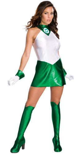 Sexy Green Lantern Superheldin Damenkostüm Karneval Verkleidung Damen Extra Small Extra Small