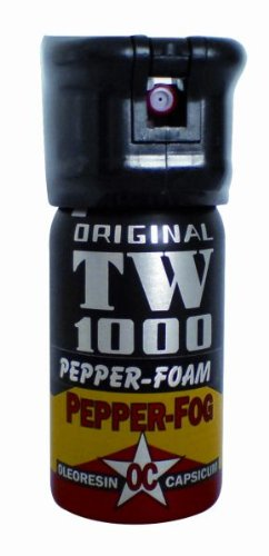 Hohenmoorer Messermanufaktur Erwachsene Pfefferspray Hoernecke TW 1000 Pepper Foam Man Transparent, 65g
