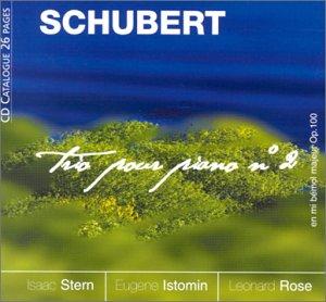 Schubert : Trio pour piano n° 2 en mi bémol majeur Op. 100