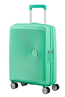 American Tourister Soundbox Spinner Espandibile, 55 cm, 35,5/41 L, 2,6 Kg, Verde (Deep Mint) (B079MC6SHS) | Amazon price tracker / tracking, Amazon price history charts, Amazon price watches, Amazon price drop alerts