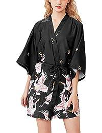0afd00a18009 Amazon.it  Nero - Vestaglie e Kimono   Pigiami e camicie da notte ...