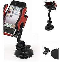 K-NVFA parabrisas del coche de montaje de 360 ??grados titular de navegación gps mp4 teléfono celular negro rojo KK-V- 6693