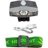 """funie - Lámpara de Exterior Recargable con Sensor USB COB para Pesca, Color Gris, Tamaño 4.5cm x 5.5cm x 1.5cm/1.77"""" x 2.16"""" x 0.59"""""""