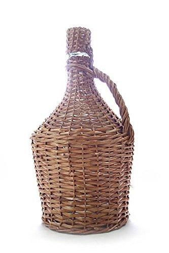 Glasballon im Weidenkorb ✿ 5 Liter Demijohn