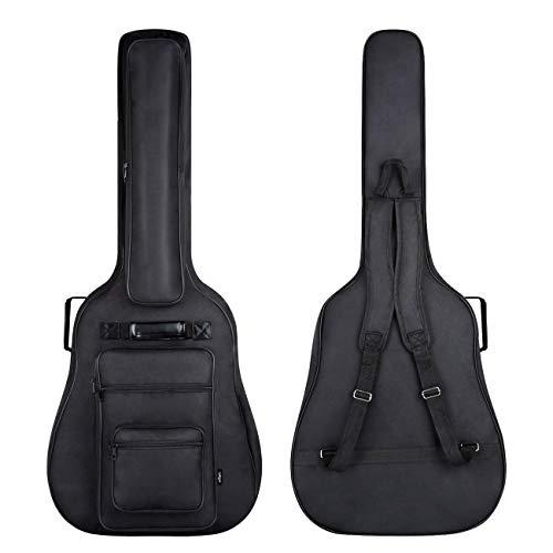 CAHAYA Funda para Guitarra Estuche Guitarra Clasica Acústica Impermeable con 6 Bolsillos...