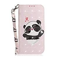 ‏‪LAPORTE Case for Samsung Galaxy S20,Pattern with Stand Function,Wallet Case,Handmade Wallet Case Stand Card Slots and Kickstand Credit Card Protector - Caring bear‬‏