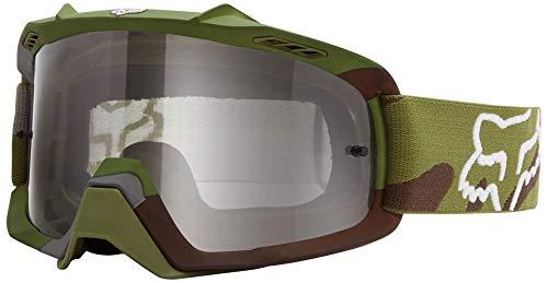 FOX Air Space Youth Camo MX-Brille, Farbe grün camo, Größe OS -
