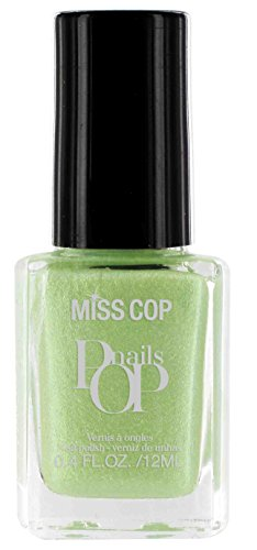 La signorina Pop Cop Nails Acquaverde 12 ml - Set di 2