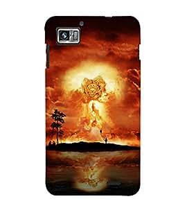 Fuson Designer Back Case Cover for Lenovo K860 :: Lenovo IdeaPhone K860 (Lion Roaring Lion Lion Face King of Jungle Jungle King)