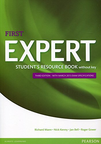 Expert first student's resource book. Without key. Con espansione online. Per le Scuole superiori