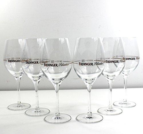 ERDINGER Pikantus Gläser 6x0,25l Aperitif Glas ~mn 612 7i2r
