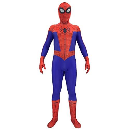 rallel Universum Peter Parker Spiderman Peter Parker Cos Halloween Kostüm,Red-L ()