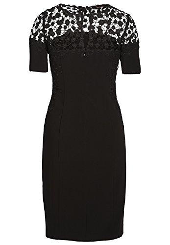 APART Fashion Damen Kleid Schwarz (schwarz 0)