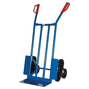 Treppen-Sackkarre, 250 KG blau, 108x53x55 cm