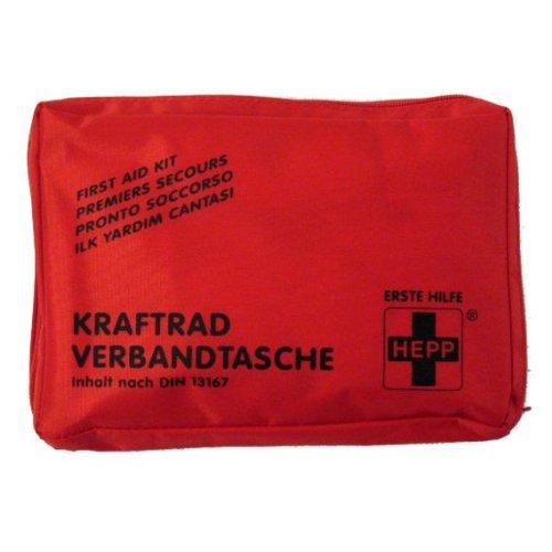 Kraftrad Verbandtasche SCHWARZ - Motorrad Verbandtasche - Erste Hilfe Set - Biker