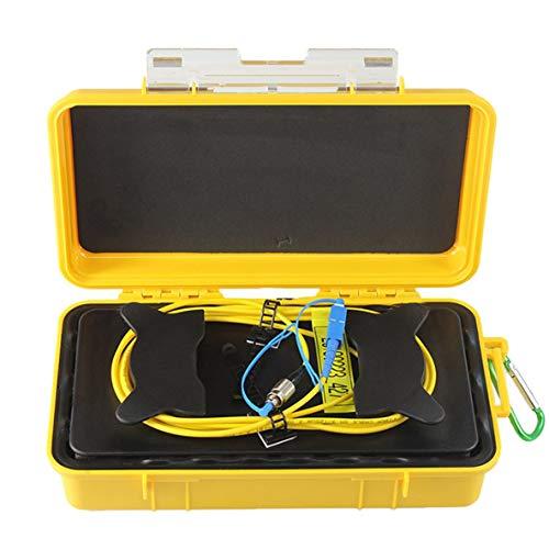 Noradtjcca FC-UPC/SC-UPC Professionelles Einmoden-OTDR-Einführungskabel (2000M) Box Glasfaserring OTDR-Einführungsglasfaserkabel -
