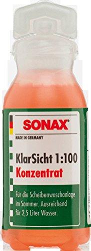 SONAX KlarSicht 1:100 Konzentrat 3 x 25 ml